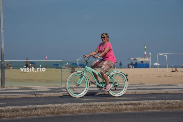 Woman cycling 1