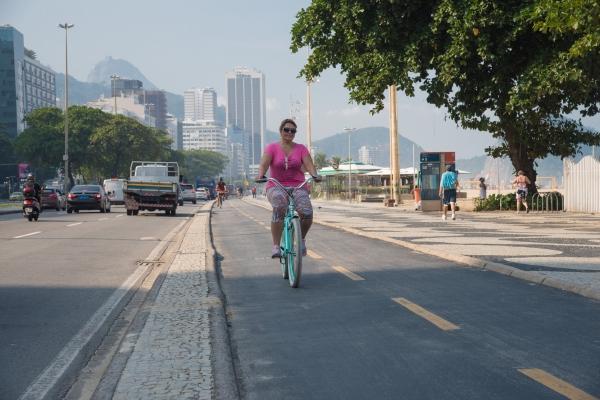 Woman cycling 3