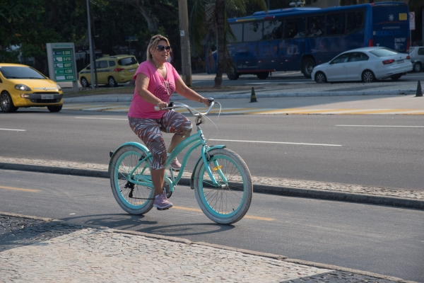 Woman cycling 2