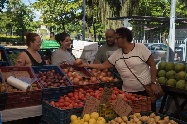 At the market 1
