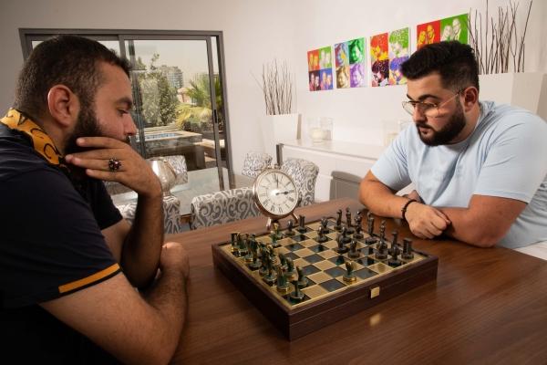 Playing chess 3