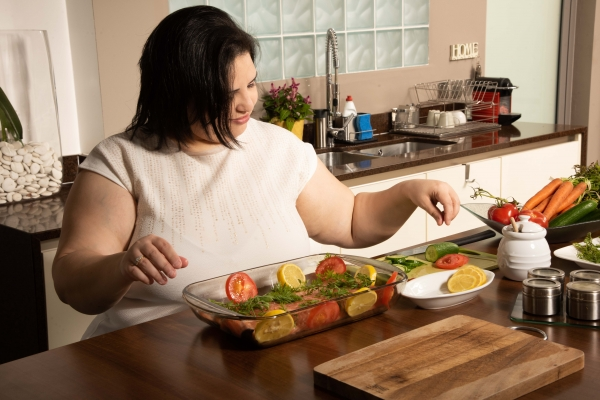 Woman preparing food 3